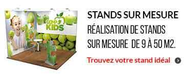 stand exposition modulaire Paris 75 vector modulate