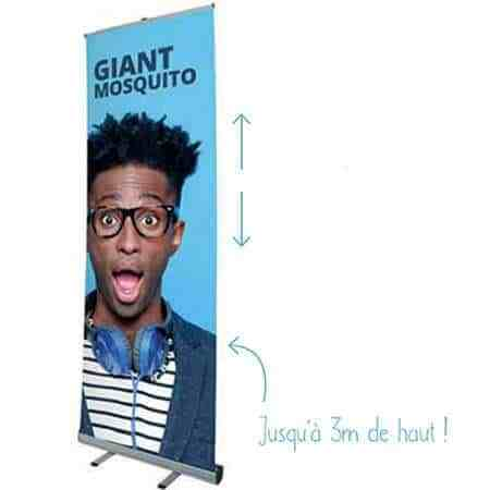 stand grande hauteur giant mosquito